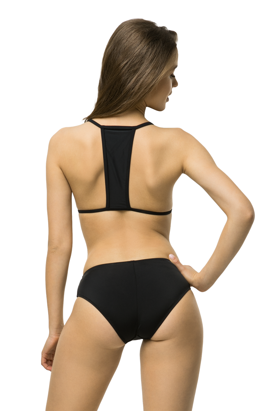 Wildberry bikini black